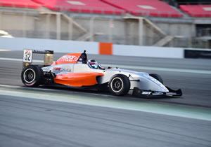 PRESLEY MARTONO FASTEST IN TIGHT PRACTICE SESSION IN MRF CHALLENGE 2017 IN DUBAI
