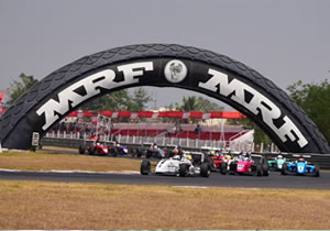 DRIVERS RELISHING CHANCE TO DRIVE AT MMRT AS MRF CHALLENGE 2017 FINALE TO TAKE PLACE IN CHENNAI THIS WEEKEND